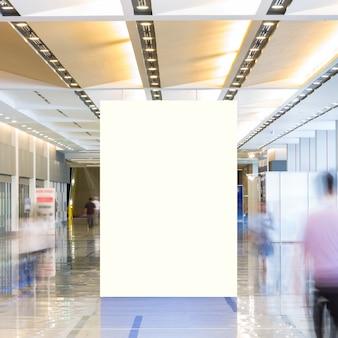 Tecido pop up unidade básica publicidade banner media display pano de fundo, fundo vazio