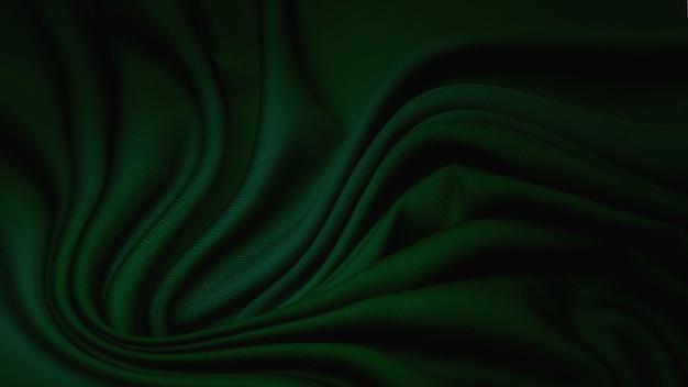 Tecido rayon na cor verde. padrão, plano de fundo.