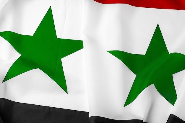 Tecido síria bandeira