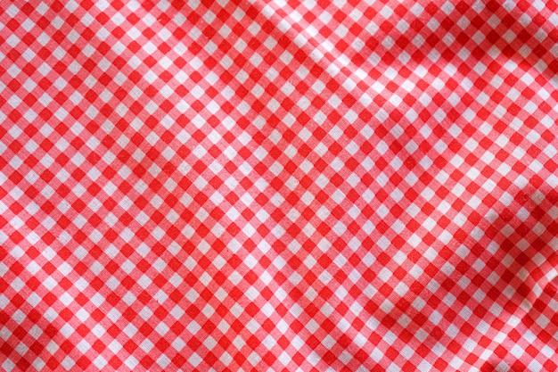 Tecido xadrez clássico esfarelado ou fundo de toalha de mesa