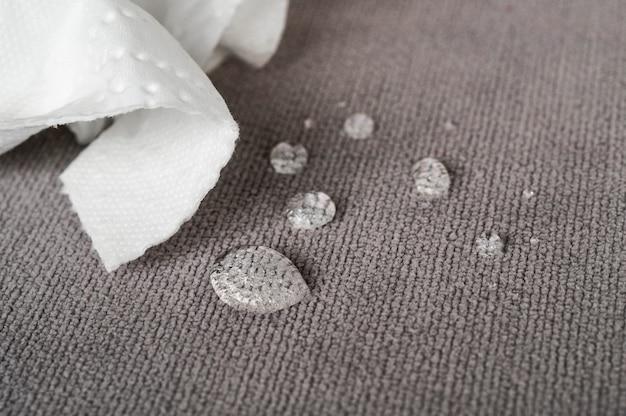 Tecidos repelentes de água e impermeáveis