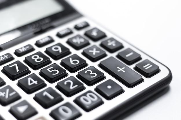 Teclado da calculadora