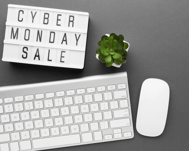 Teclado e mouse para venda cyber segunda-feira