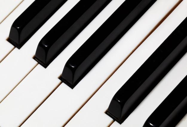 Teclas de piano.