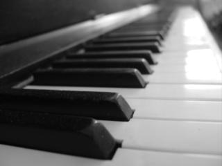 Teclas do piano, as notas