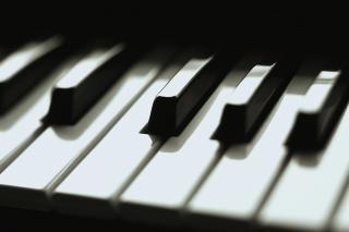 Teclas do piano, musical