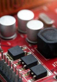 Tecnologia da placa-mãe de computador eletrônico