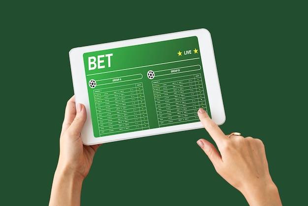 Tecnologia de aposta em jogos de futebol online