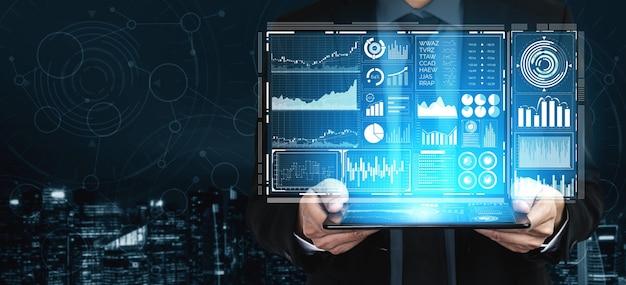 Tecnologia de big data para análise de finanças empresariais