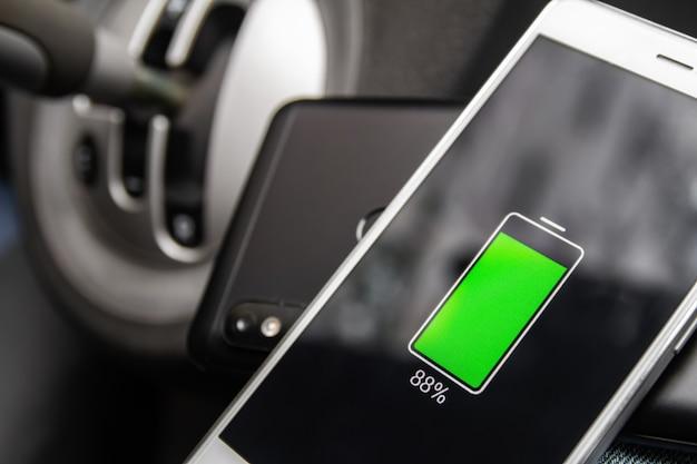 Tecnologia de compartilhamento de carga sem fio da bateria do telefone