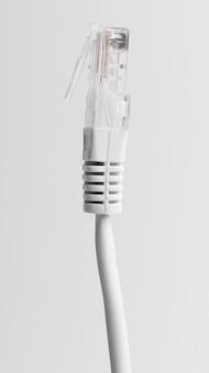 Tecnologia de computador de cabo ethernet e conexão