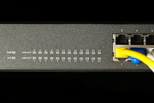 Tecnologia de conexão de rede por cabo