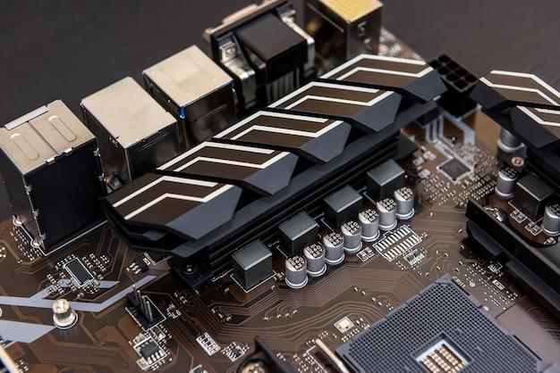 Tecnologia de cpu eletrônica de placa-mãe de hardware