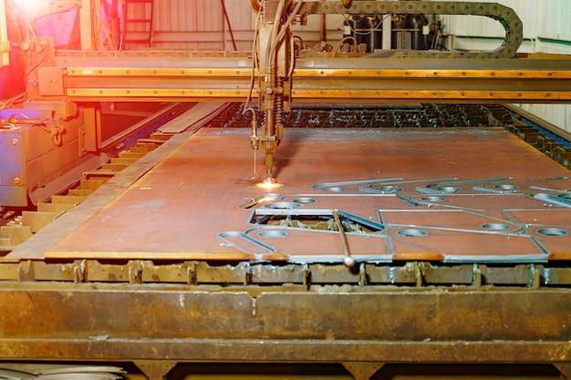 Tecnologia de máquinas de corte a laser.