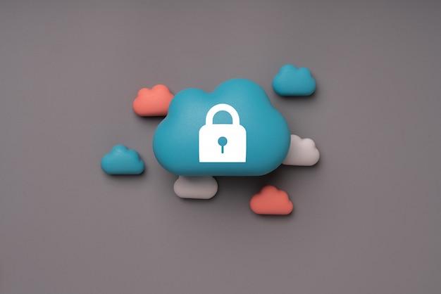 Tecnologia de nuvem para o conceito de negócio global