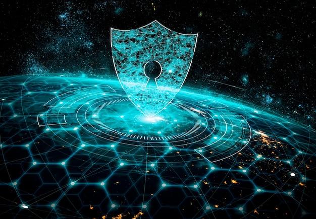 Tecnologia de segurança cibernética e proteção de dados online