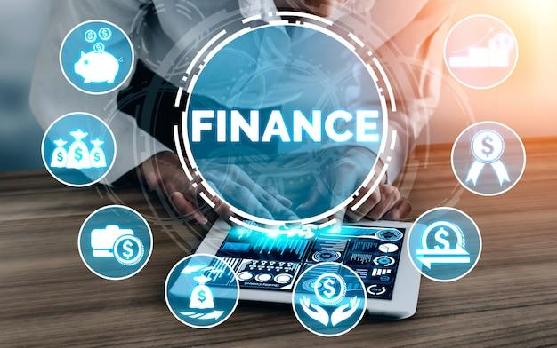 Tecnologia de transações financeiras e de dinheiro