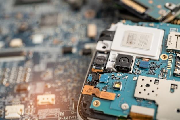 Tecnologia eletrônica do computador da placa principal do micro circuito