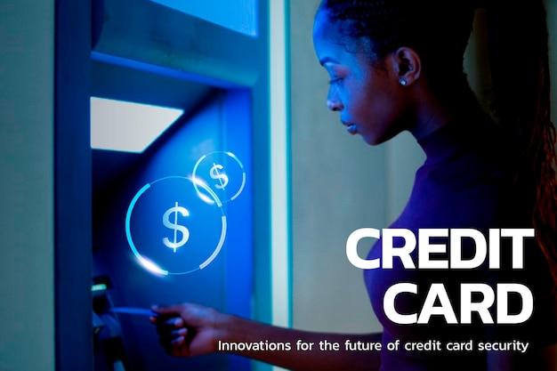 Tecnologia financeira de segurança de cartão de crédito