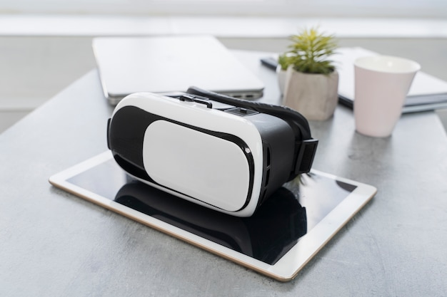 Tecnologia futurista de alta visão vr