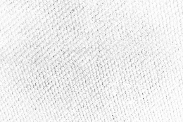 Tela branca do close-up de toalha e fundo da textura.