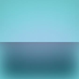Tela vazia do fundo do sumário do gradiente azul e azul escuro