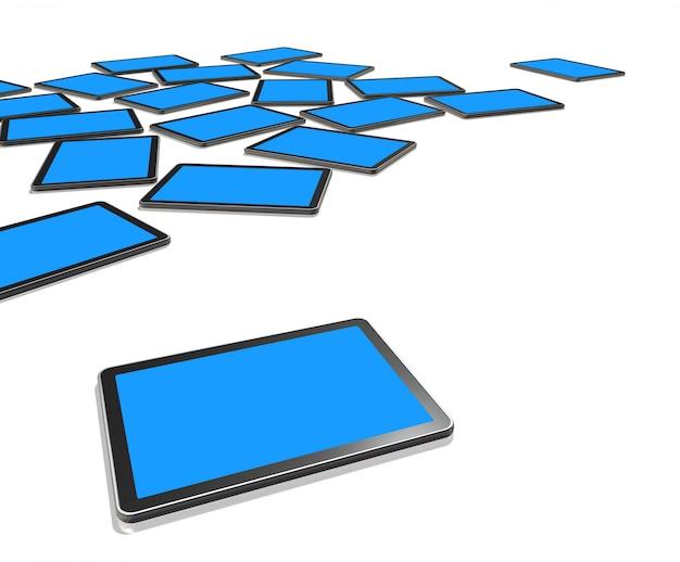 Telas de tv 3d, tablet pc digital