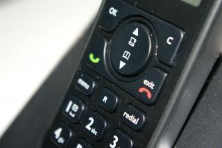 Telefone, à noite