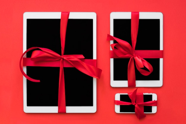 Telefone celular e tablets com fitas