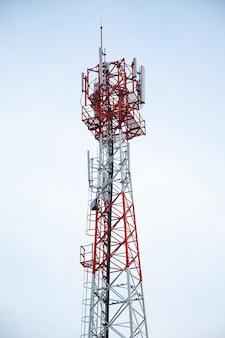 Telefone de torres de transmissão.
