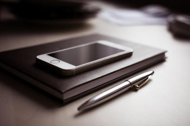 Telefone no diário