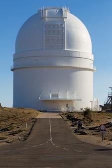 Telescópio, observatório astrológico, espanha