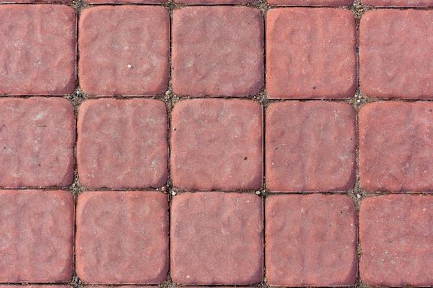 Telha de concreto vermelho textura de fundo
