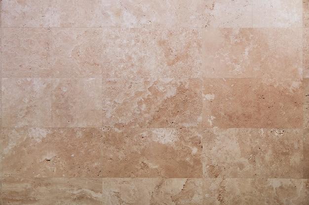 Telha de travertino, fundo de textura de pedra natural