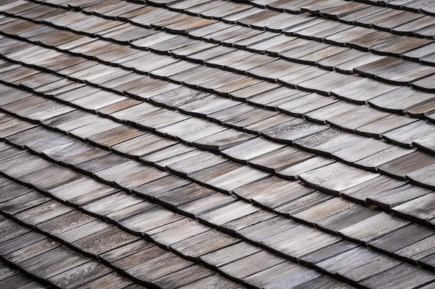 Telha no telhado de casa ou casa texturas