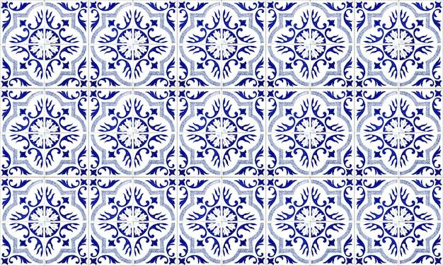 Telha sem emenda de portugal ou de espanha azulejo. alta resolução.