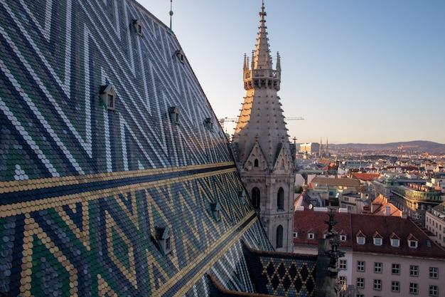Telhado da catedral de santo estêvão