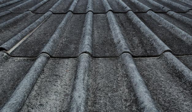 Telhado de telha da casa