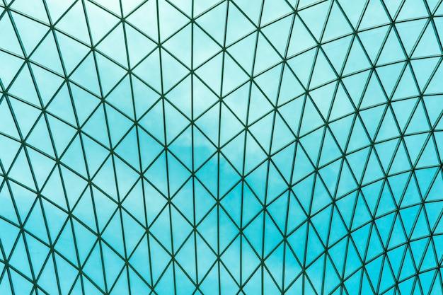 Telhado panorâmico moderno de vidro