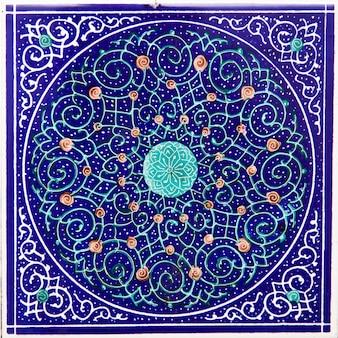Telhas cerâmicas decorativas iranianas