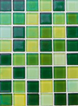 Telhas de fundo de mosaico colorido