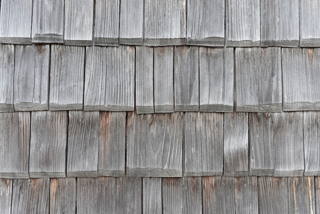 Telhas de madeira velhas