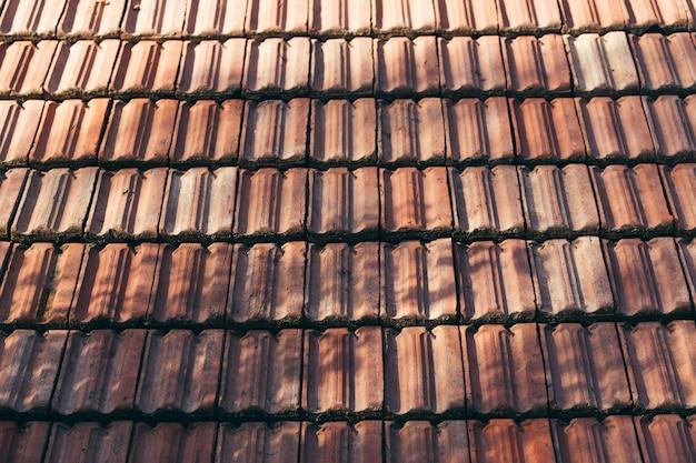 Telhas do telhado da casa