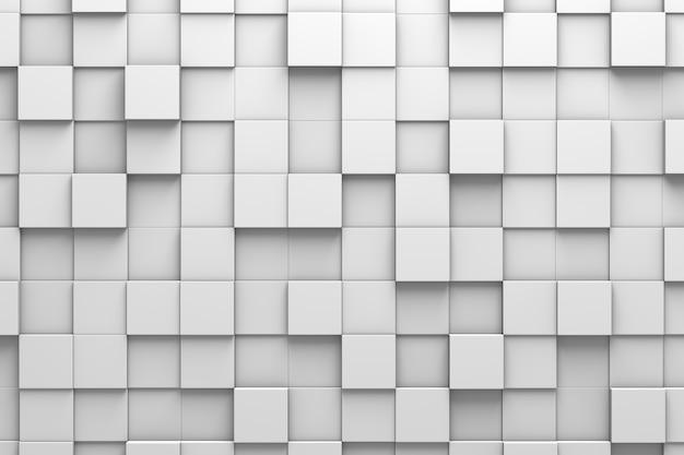 Telhas quadradas 3d pattern wall
