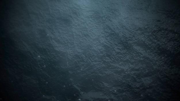 Tema cinematográfico com gelo, neve e fundo azul. estilo grunge luxuoso e elegante de tema de cinema, ilustração 3d