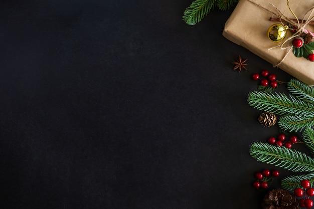 Tema de casa decorada de natal.