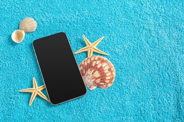Tema de gadgets para celular de verão