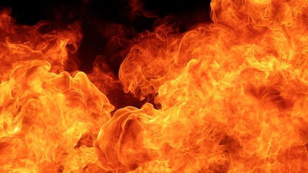 Tempestade de fogo furiosa
