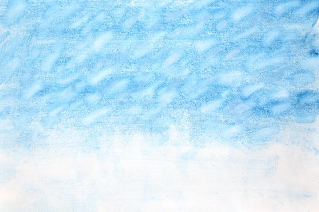 Tempestade de neve - fundo abstrato aquarela de inverno