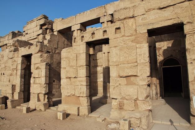 Templo antigo de luxor na cidade de luxor, egito
